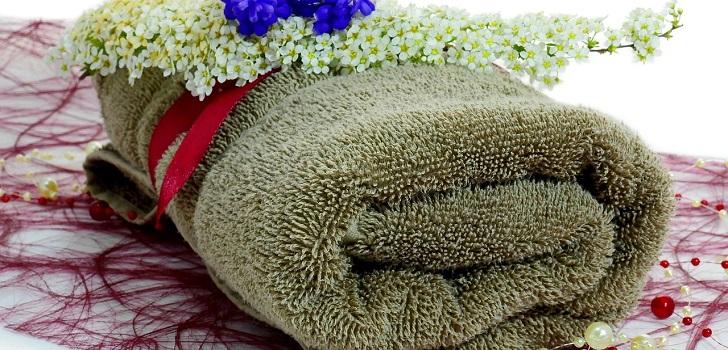 Как упаковать полотенце в подарок Советы 94