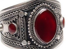 Кольцо никелированное в презент