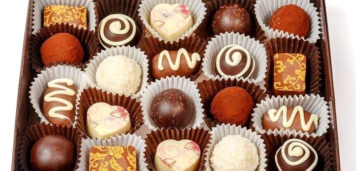 Коробка шоколадных конфет в презент