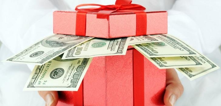 Поздравление при денежном подарке 68