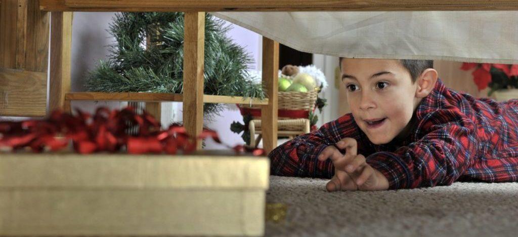 Куда спрятать подарок от родителей