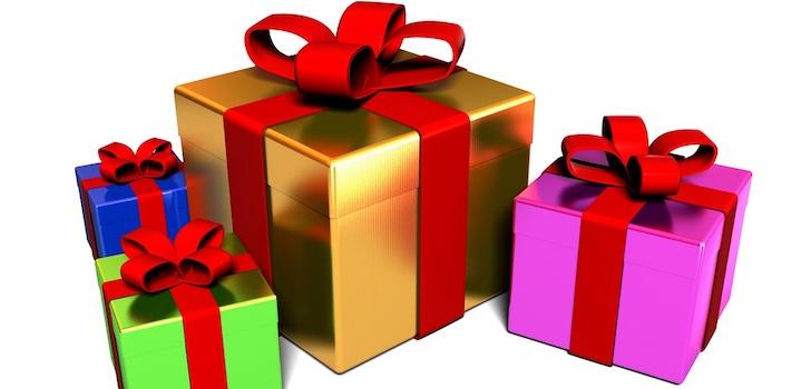 Поздравления за полученные подарки 362