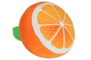 Подушка в виде апельсина