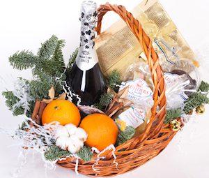 Подарок Няне - корзинка с продуктами