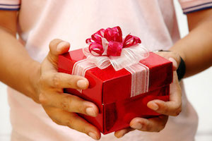 Подарок от любимого мужчины