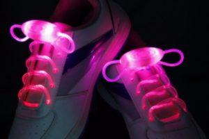 Мигающие шнурки
