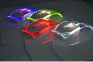 Прозрачная мышка для компьютера