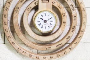 Настенный деревянный календарь