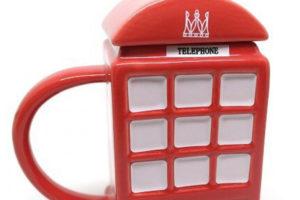 Кружка в форме английской телефонной будки