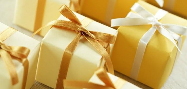 Памятные подарки гостям от юбиляра 70