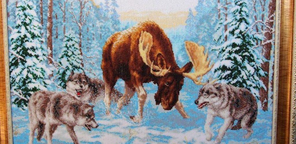 Картина из бисера в подарок