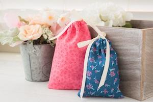Тканевый мешочек для маленьких подарков