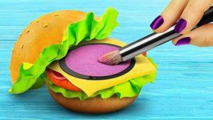 Косметичка в виде бургера